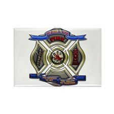 Fire Desire, Courage, Ability Rectangle Magnet (10