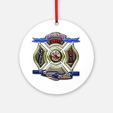 Fire Desire, Courage, Ability Ornament (Round)