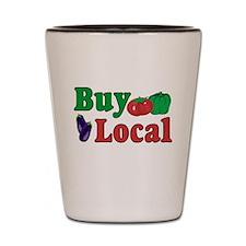 Buy Local Shot Glass