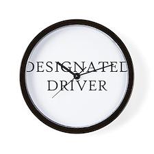 Designated Driver Wall Clock