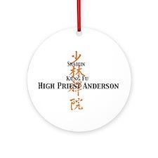 Shaolin Kung Fu Ornament (Round)