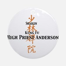 Shaolin Kung Fu Ornament (Round)
