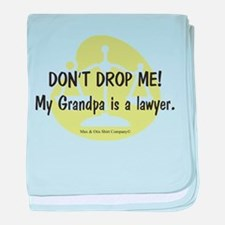 Lawyer Grandpa baby blanket