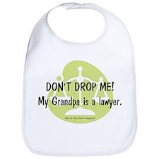 Lawyer Grandpa Bib