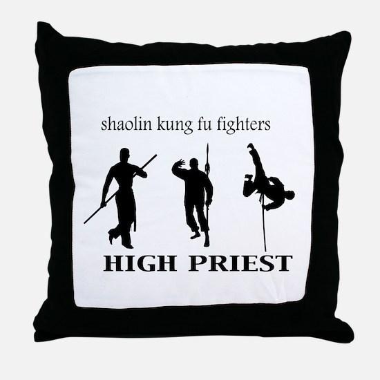 High Priest Throw Pillow