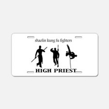 High Priest Aluminum License Plate