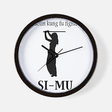 Simu Wall Clock