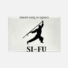 Sifu Rectangle Magnet