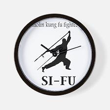Sifu Wall Clock