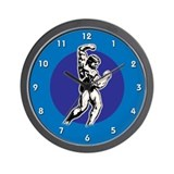 Arnold schwarzenegger Wall Clocks
