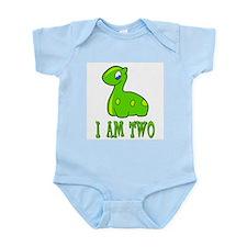 I Am Two Dinosaur Infant Creeper