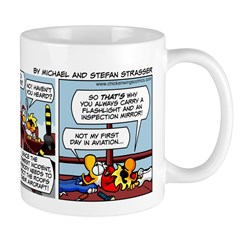 0581 - Twin Otter inspection Mug