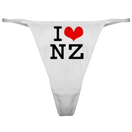 I Love NZ Classic Thong