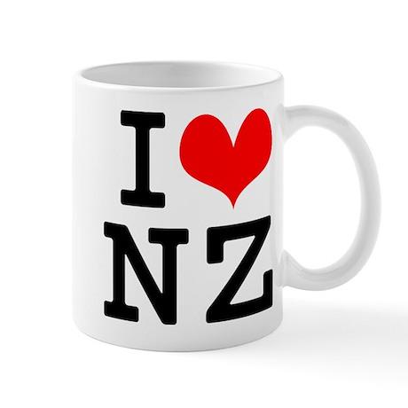 I Love NZ Mug