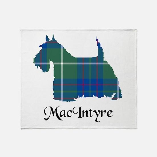 Terrier-MacIntyre hunting Throw Blanket