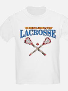 Lacrosse Original Americas Spor T-Shirt