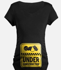Yellow Baby Construction T-Shirt