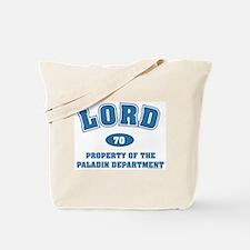 Lord Paladin Dept Tote Bag