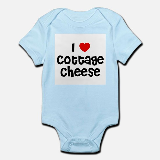 I * Cottage Cheese Infant Creeper