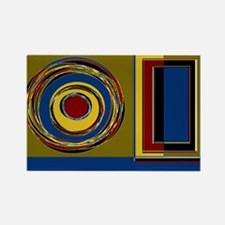Eye On The Prize Rectangle Magnet (100 pack)