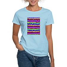 Native Design Women's Pink T-Shirt