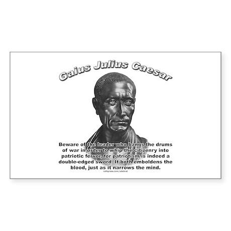 Julius Caesar 01 Rectangle Sticker