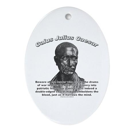Julius Caesar 01 Oval Ornament