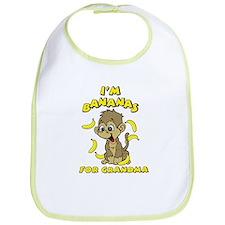 I'm Bananas For Grandma Bib