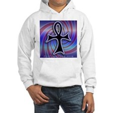 Swirly Ankh Design Hoodie Sweatshirt