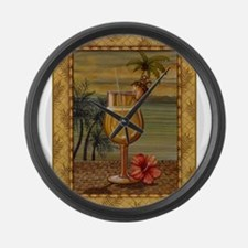 Cute Barbeque Large Wall Clock
