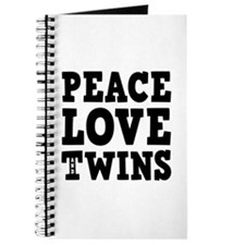 PEACE LOVE AND TWINS Journal