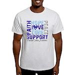 Hope Prostate Cancer Light T-Shirt