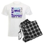 Hope Prostate Cancer Men's Light Pajamas