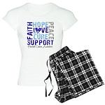 Hope Prostate Cancer Women's Light Pajamas