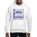 Hope Prostate Cancer Hooded Sweatshirt