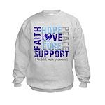 Hope Prostate Cancer Kids Sweatshirt