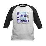 Hope Prostate Cancer Kids Baseball Jersey