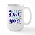 Hope Prostate Cancer Large Mug