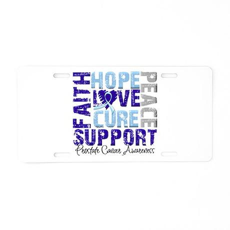 Hope Prostate Cancer Aluminum License Plate