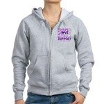 Hope Pancreatic Cancer Women's Zip Hoodie
