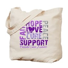 Hope Pancreatic Cancer Tote Bag