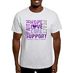 Hope Pancreatic Cancer Light T-Shirt