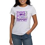 Hope Pancreatic Cancer Women's T-Shirt