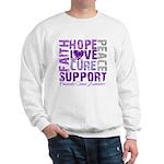 Hope Pancreatic Cancer Sweatshirt