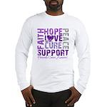Hope Pancreatic Cancer Long Sleeve T-Shirt