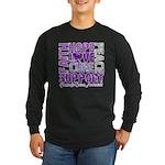 Hope Pancreatic Cancer Long Sleeve Dark T-Shirt
