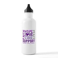 Hope Pancreatic Cancer Water Bottle