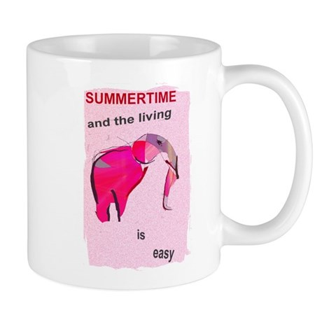 elephant summertime_Mug