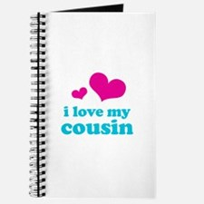 I Love My Cousin Journal