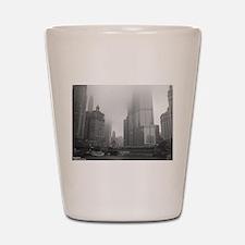 Chicago Rain Shot Glass